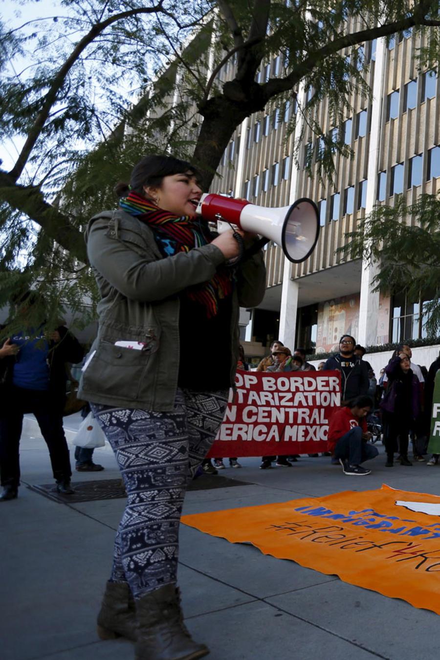 activistas pro migrantes
