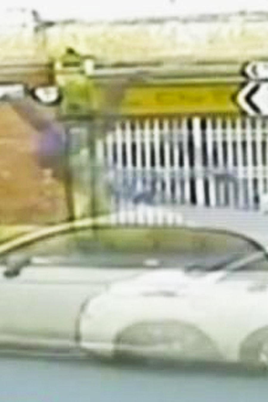 hombre impactado por vehiculo