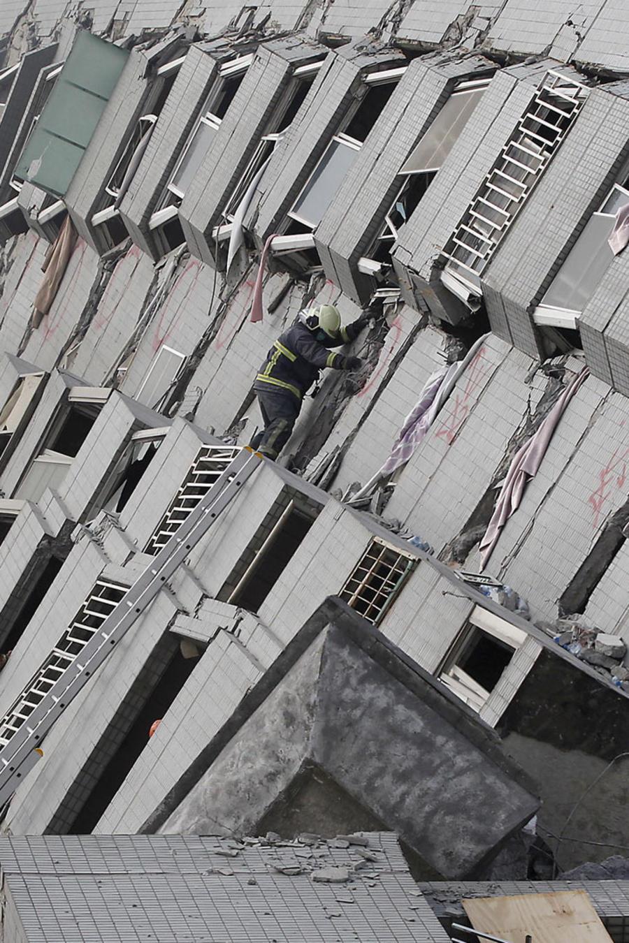 temblor en taiwan