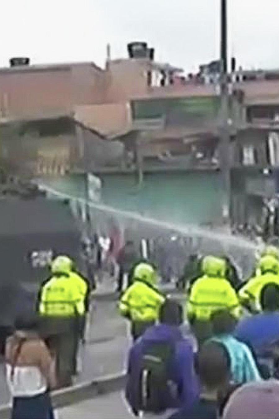 disturbios colombia