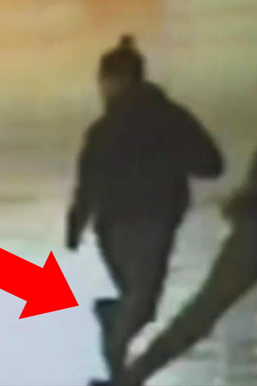 peatón ayuda a policía a capturar ladrón