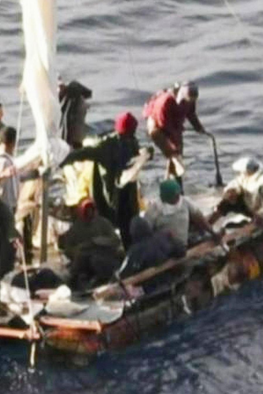 inmigrantes en golfo mexico