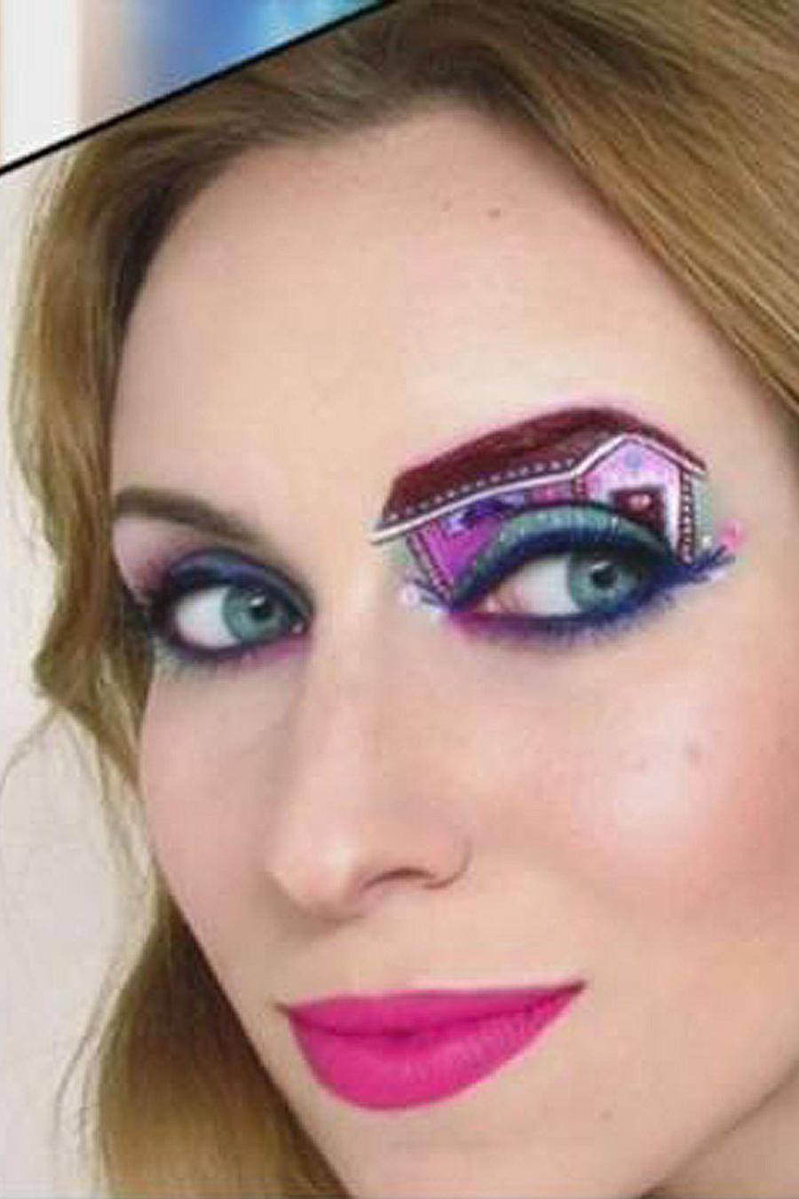 Tal Peleg es tendencia en las redes por su maquillaje de ojos