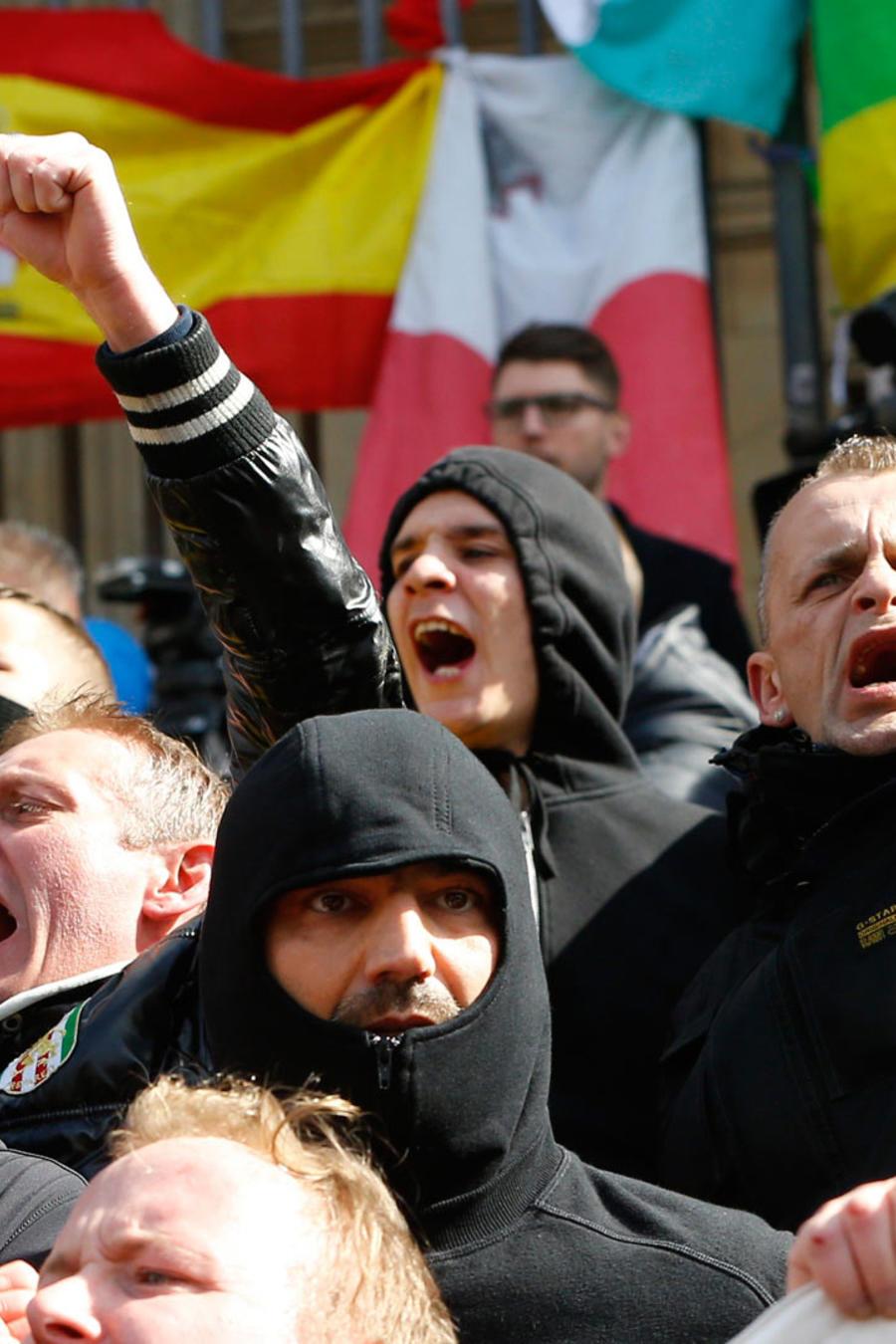 protestas en belgica