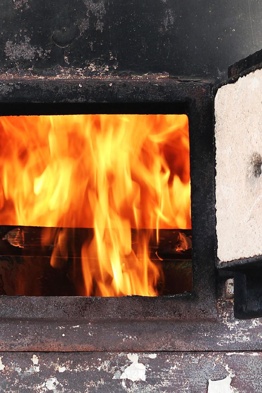 horno crematorio