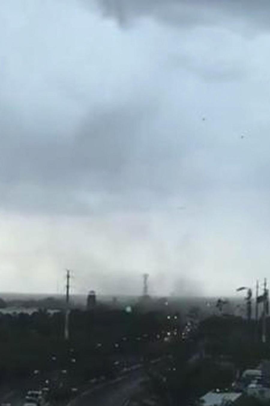 tornado en cancun