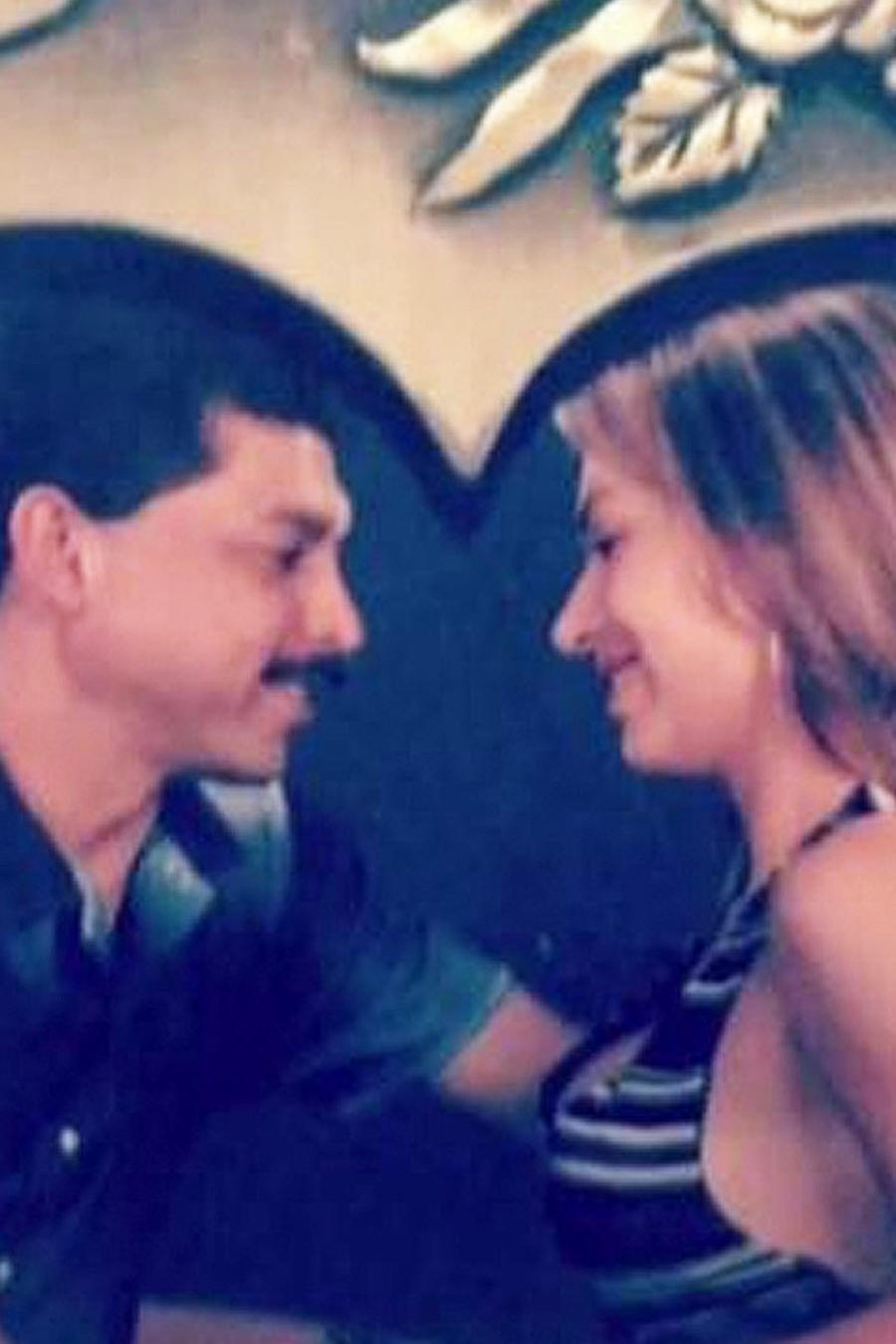 foto de emilio navaira y su esposa