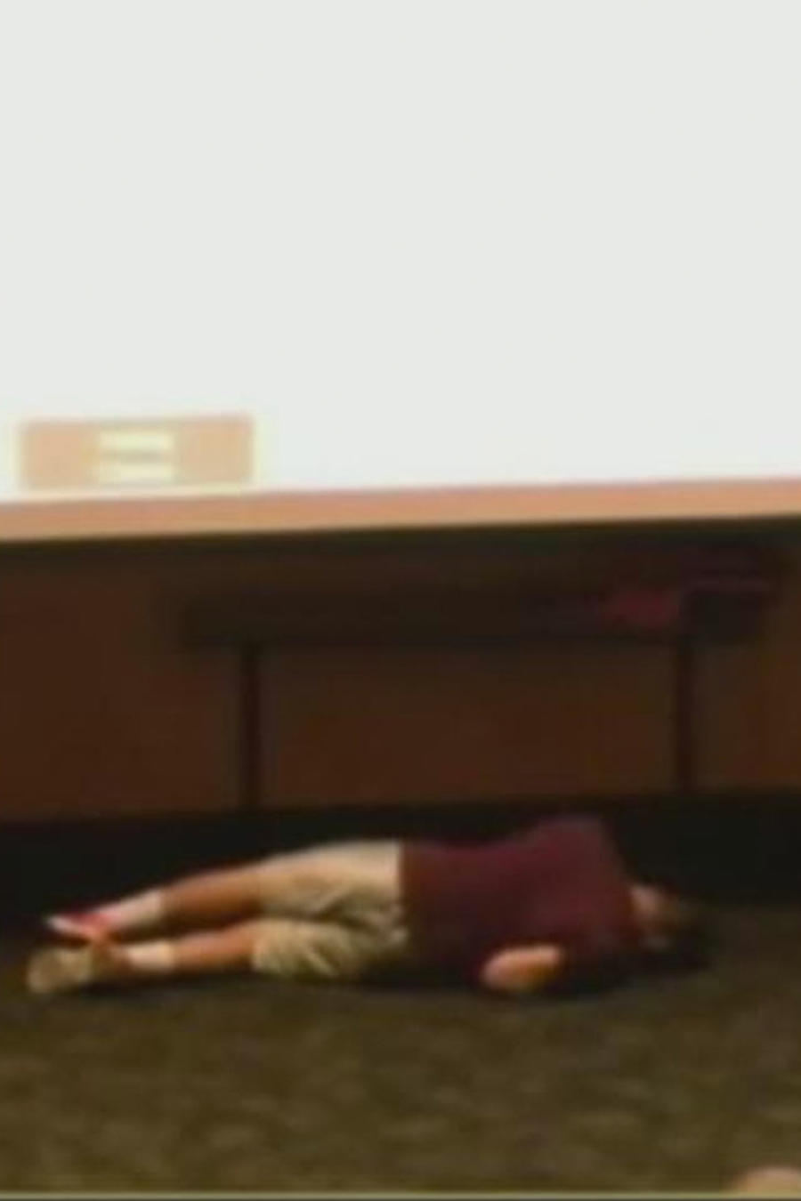 estudiante cae por dormirse