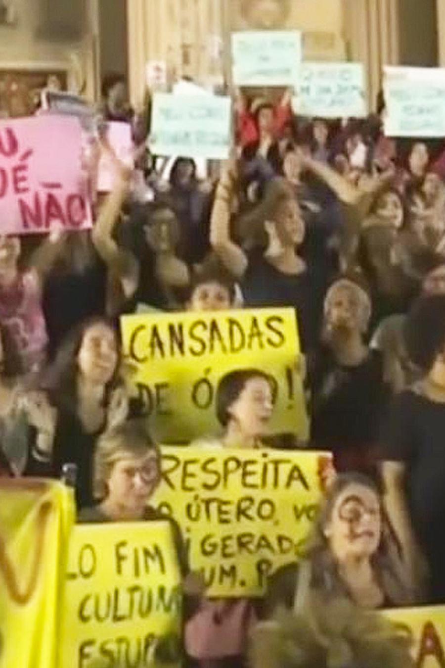 protestan por violacion de joven