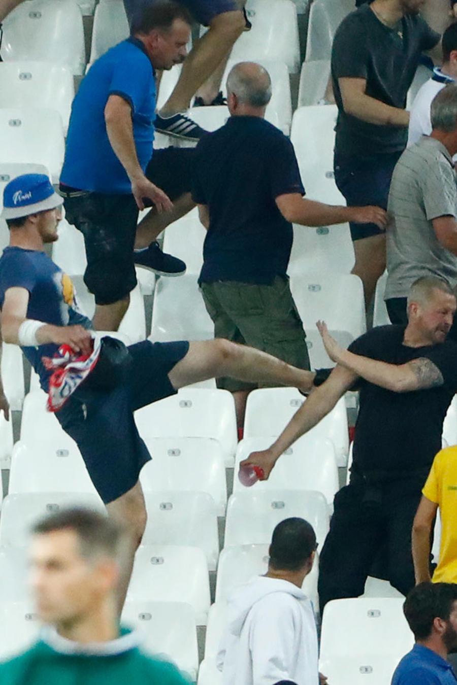 violencia en eurocopa