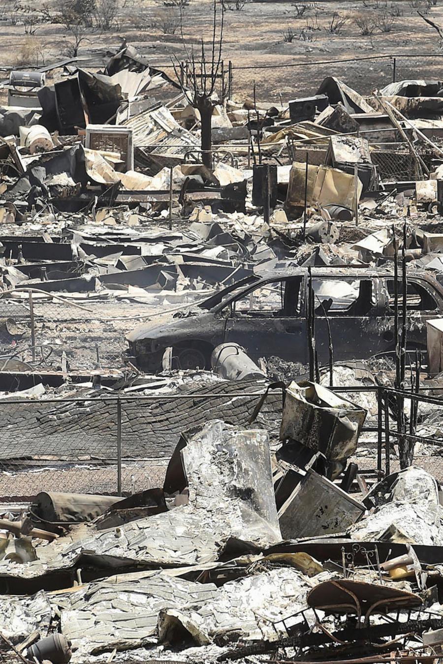 destruccion tras incendios