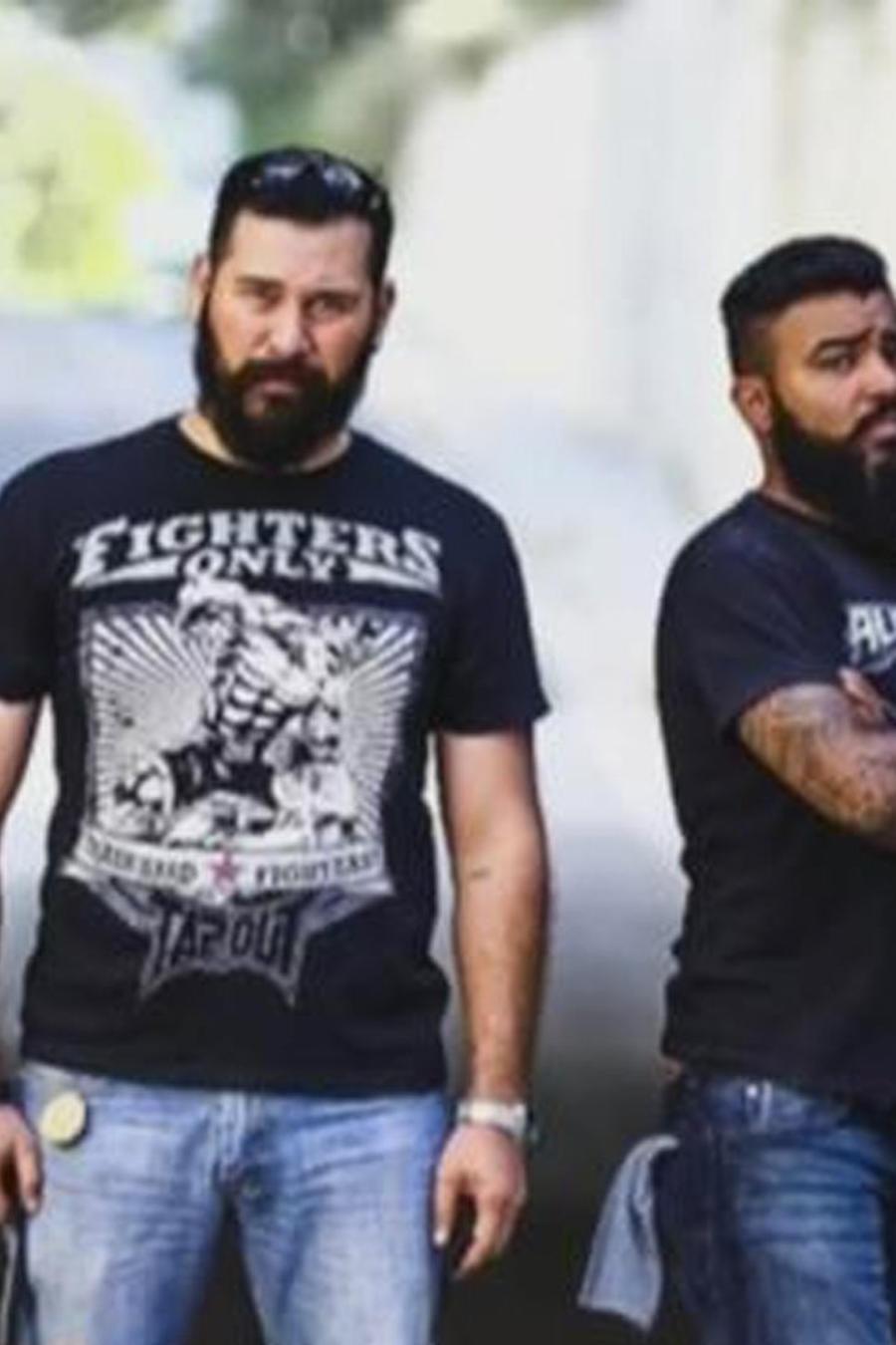 hombres barbudos