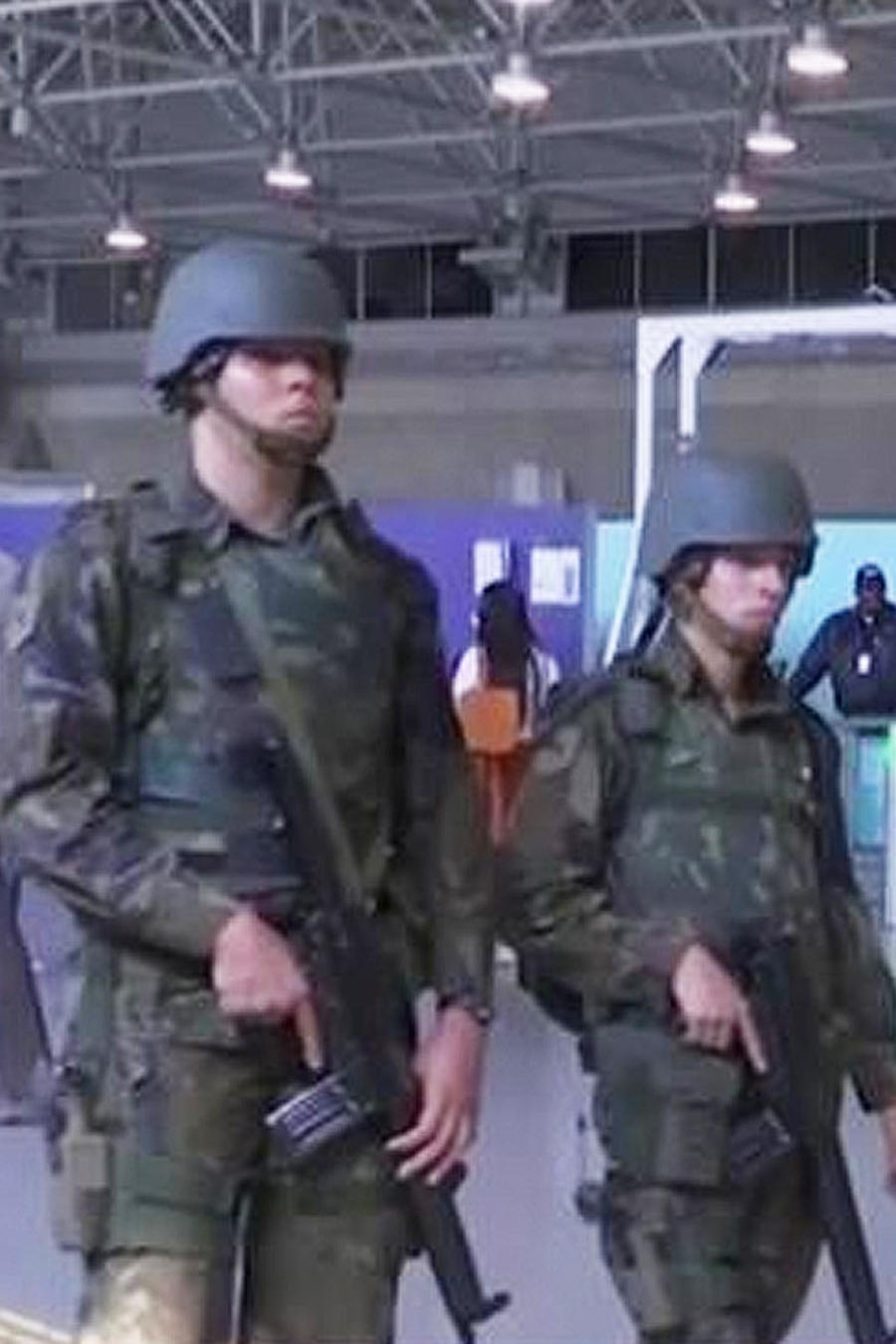 operativo en brasil
