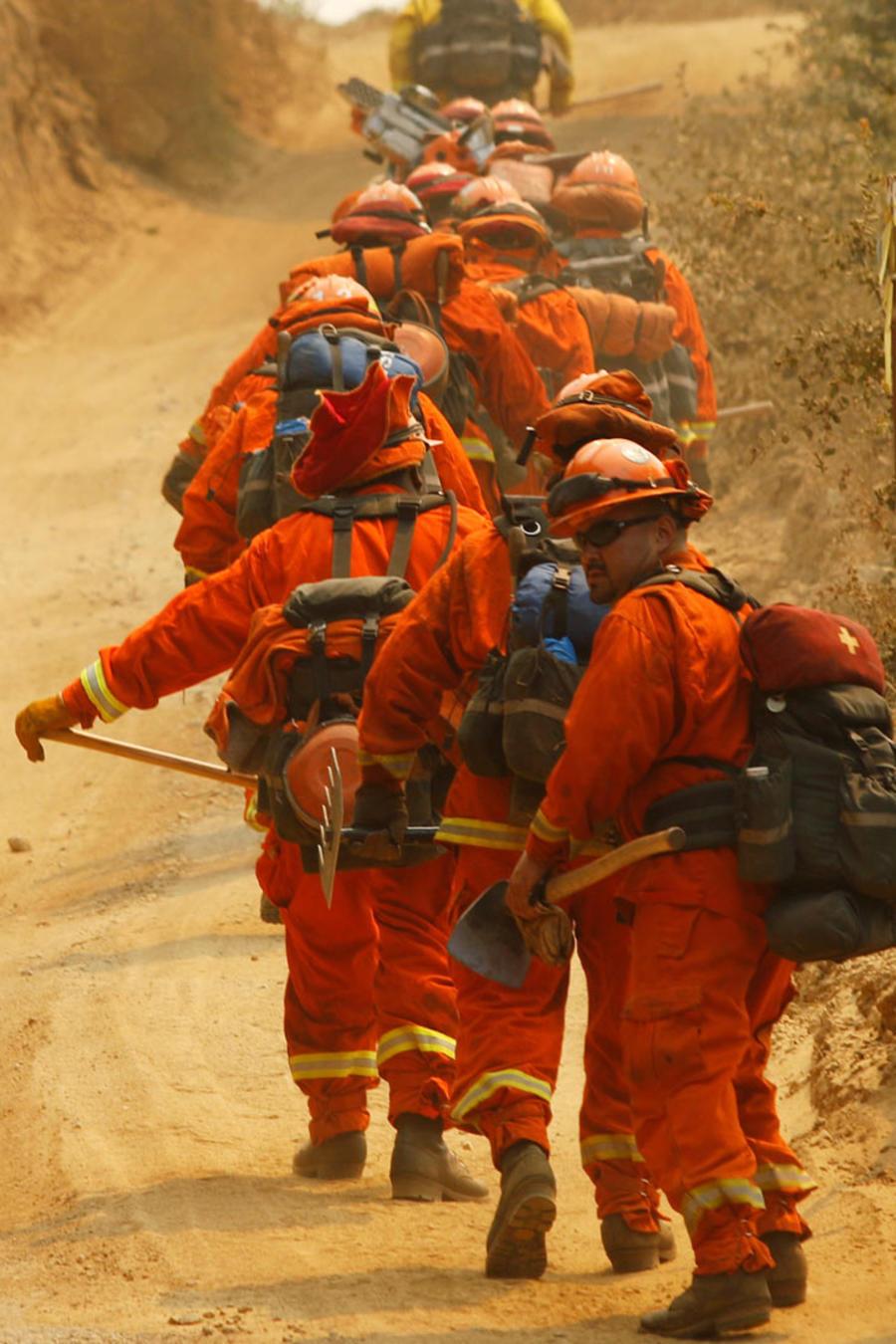 bomberos de california