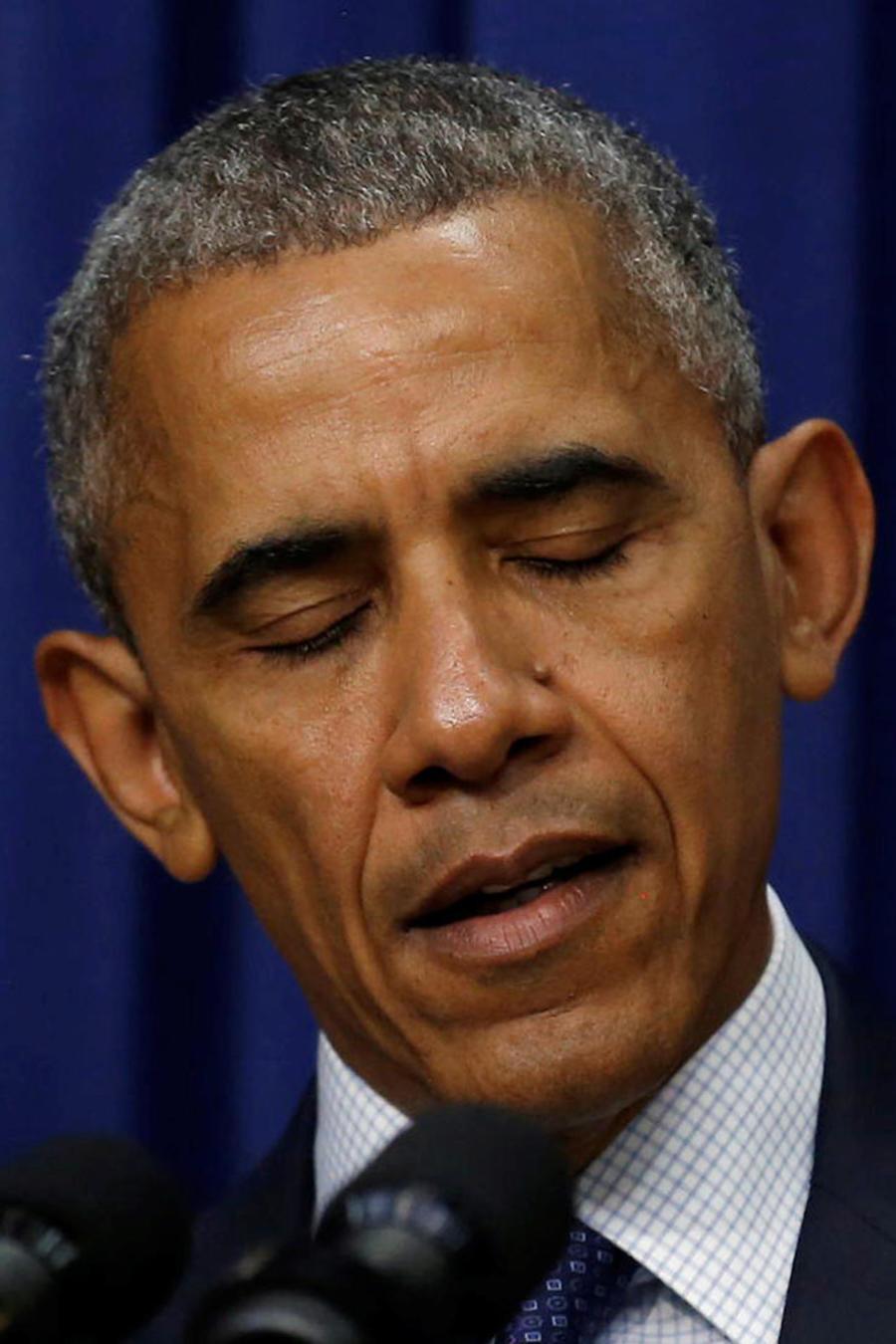 obama hablando