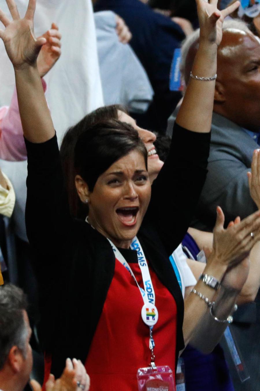 hispanos en convencion democrata
