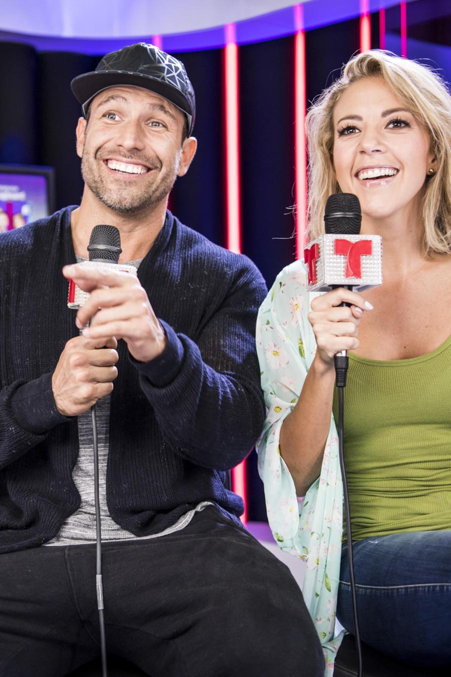 Rafael Amaya y Fernanda Castillo en Premios Tu Mundo 2016