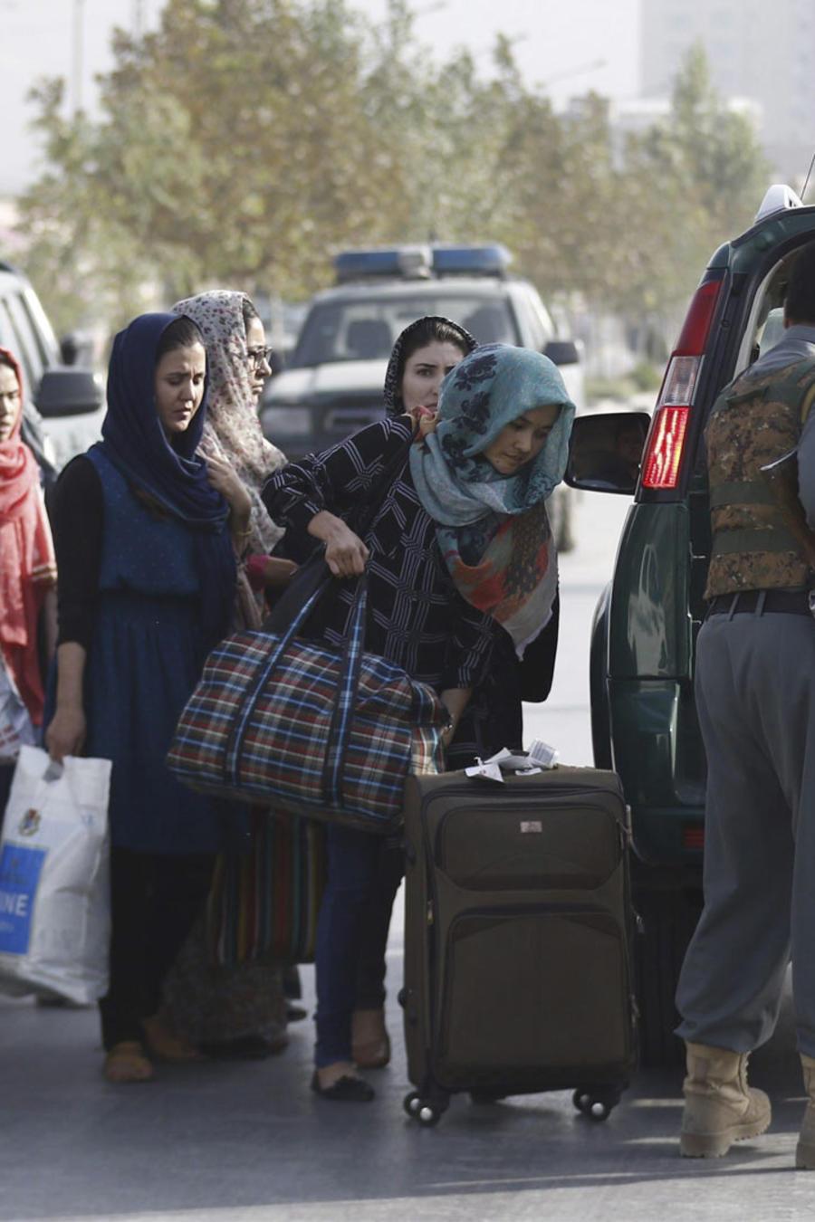 ataque universidad de kabul