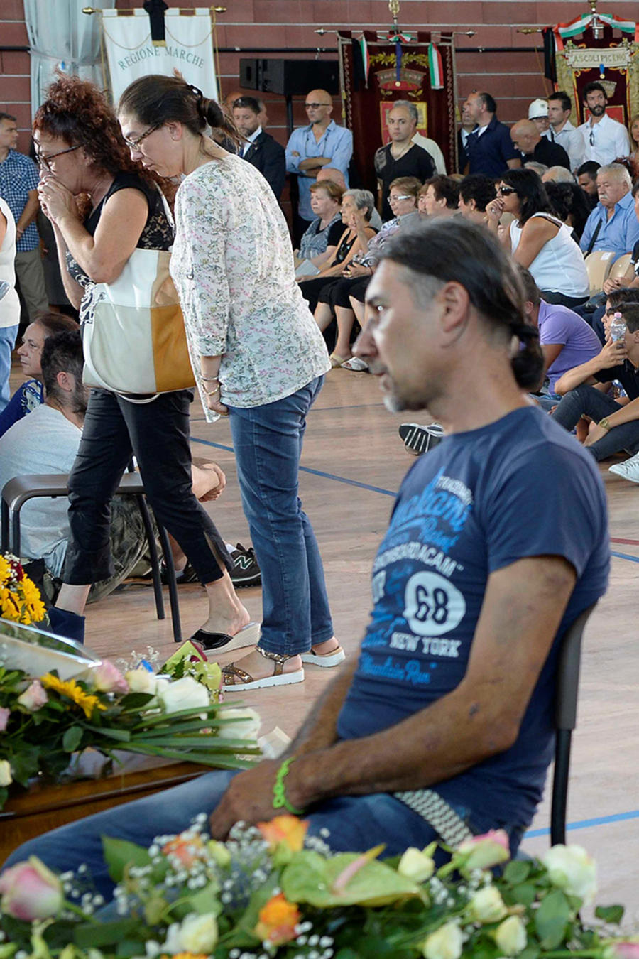 Italia honra a fallecidos en el terremoto del miércoles