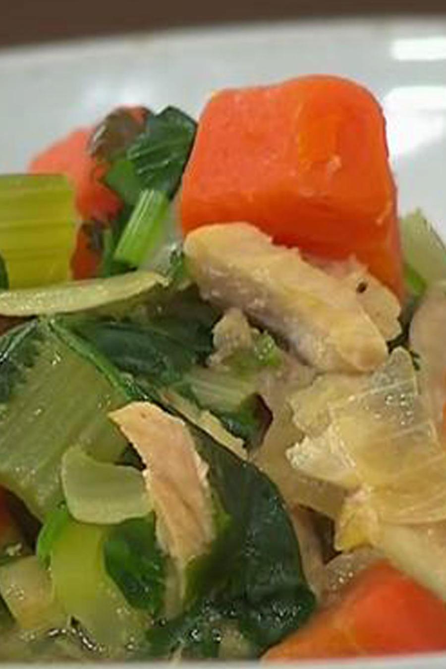 Recetas de cocina: Caldo de Pescado Michoacano