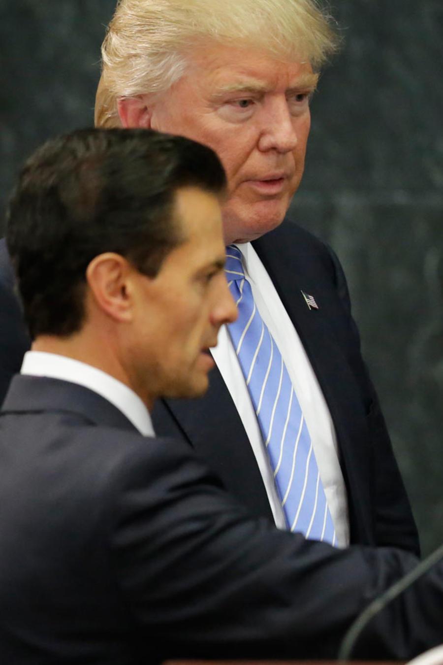 Qué gana Peña Nieto con la visita de Donald Trump