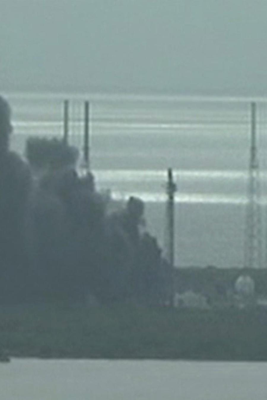 Estalla un cohete de la NASA en Cabo Cañaveral