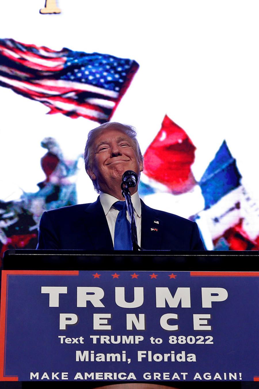 Donald Trump en Miami