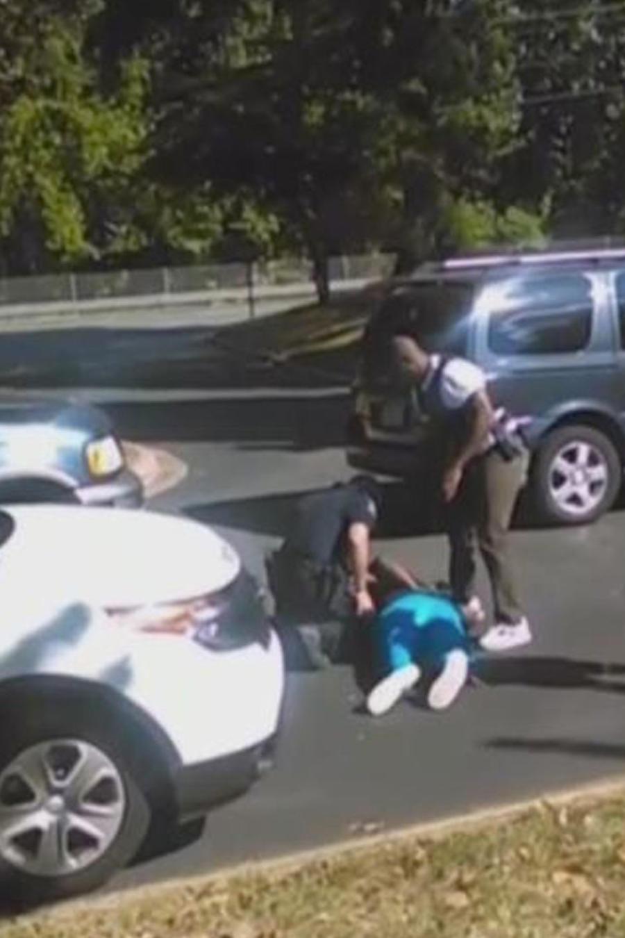 video de afroamericano baleado