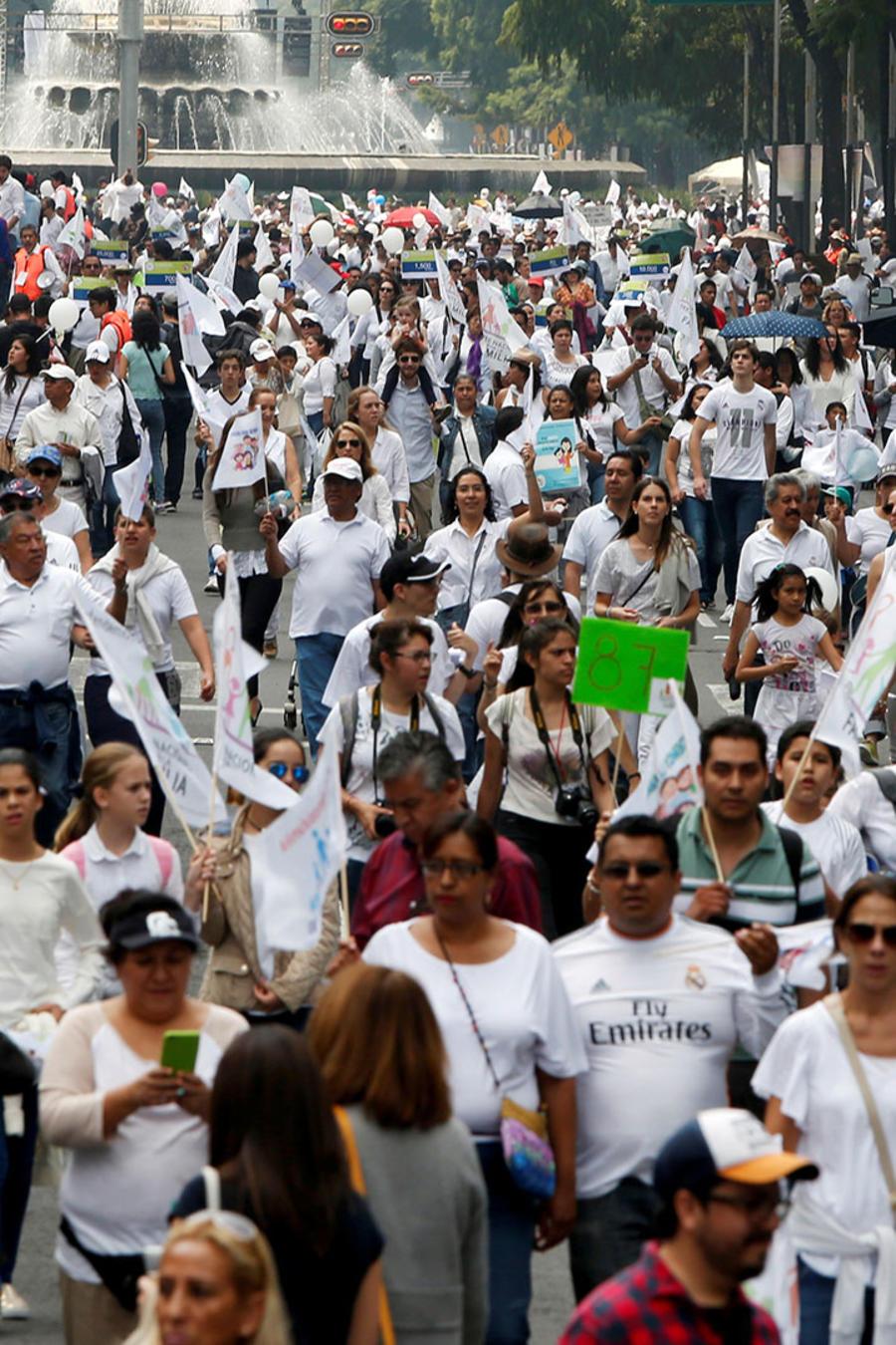 Ciudad de México protagonista de marchas de protestas
