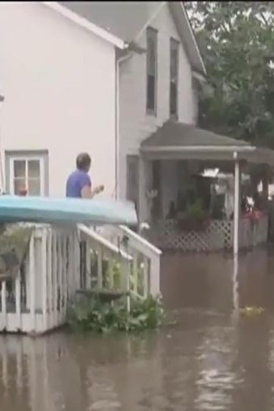 Iowa se prepara para evacuaciones