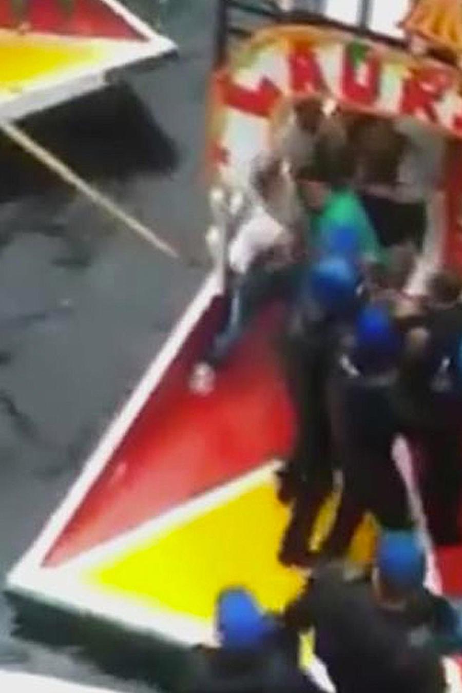 pelea en xochimilco