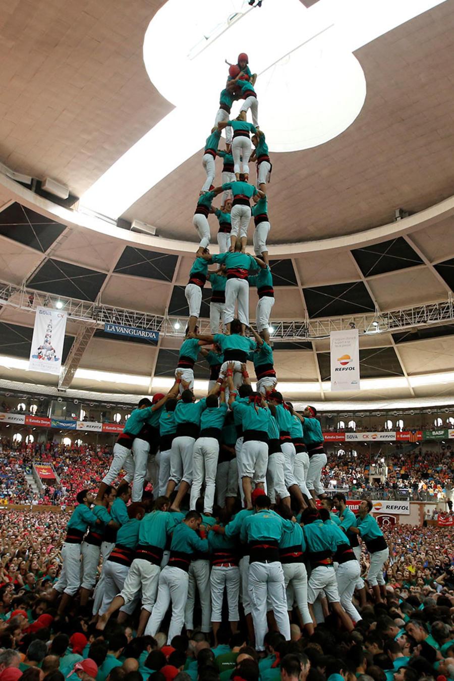 Competencias de torres humanas en España