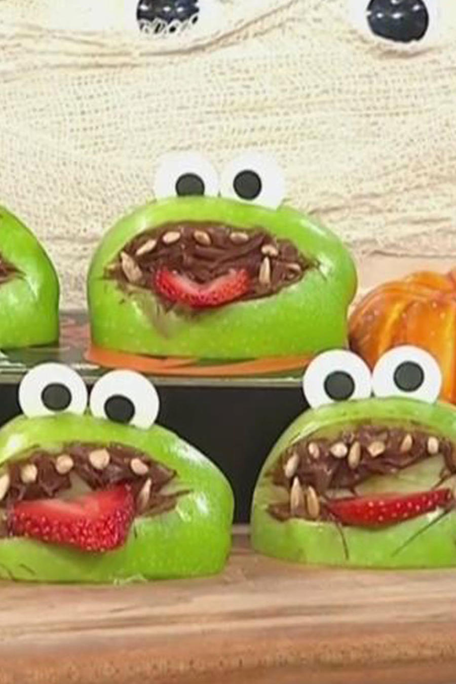 Recetas de cocina: Cómo hacer ranitas para Halloween