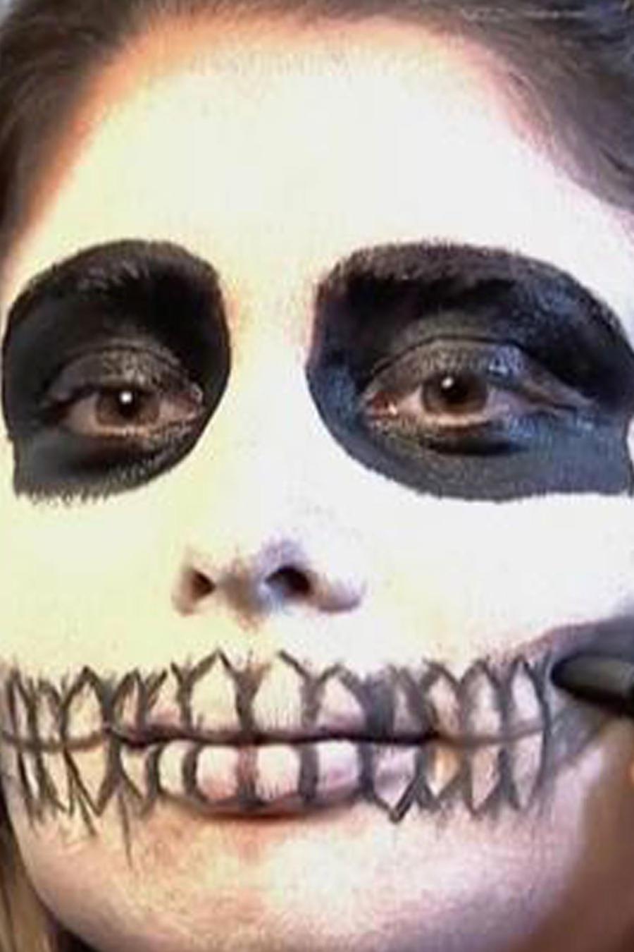 Aprende cómo hacer un maquillaje creativo para Halloween