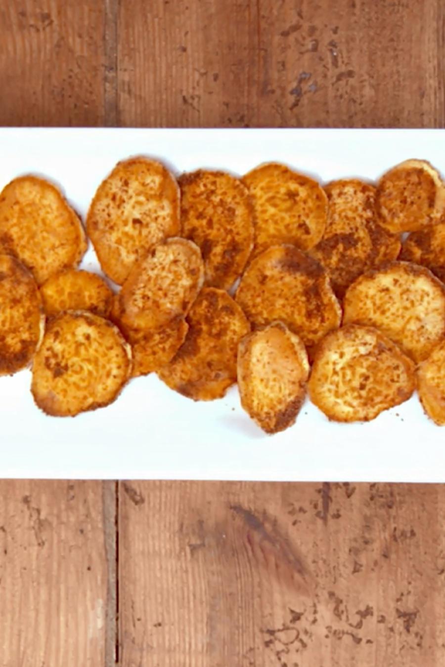 Batatas fritas ¡y saludables!