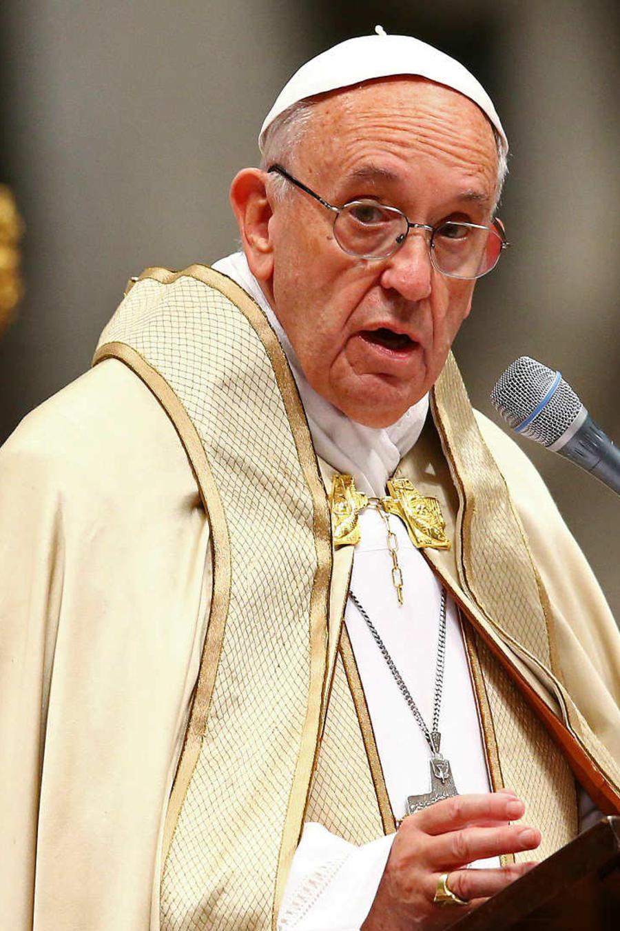 Papa alerta sobre rechazo