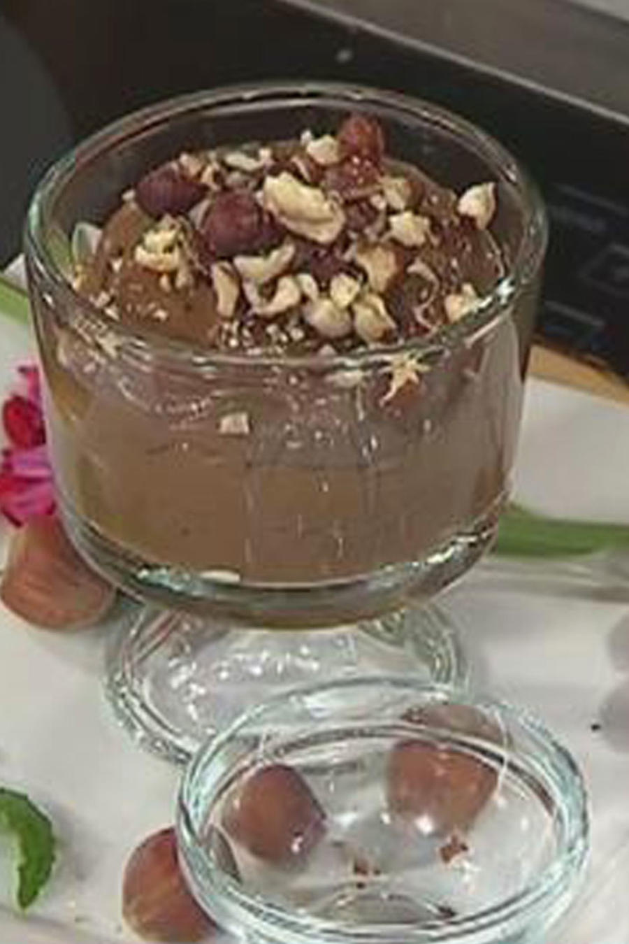 Recetas de cocina: Mousse de Aguacate y Avellana