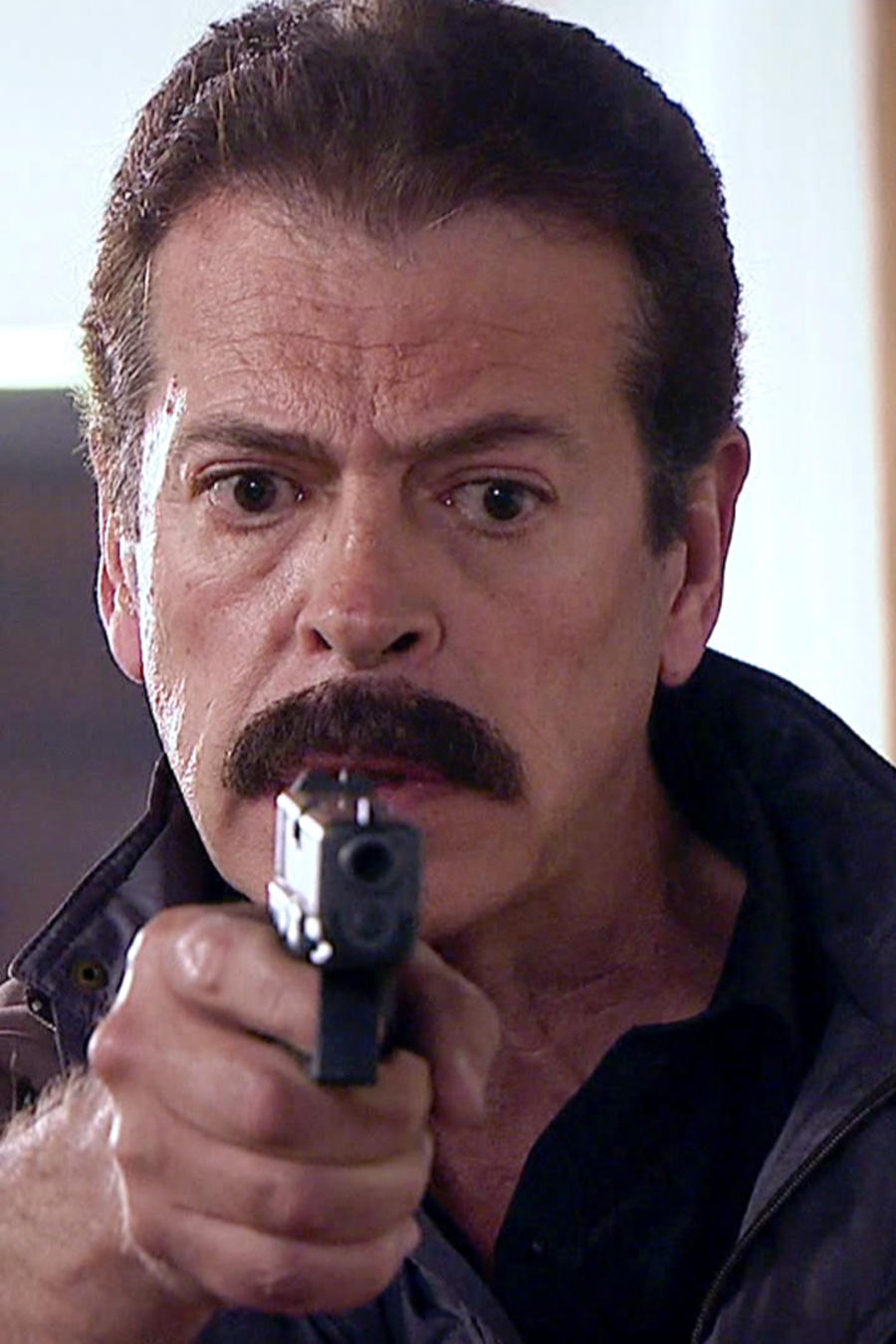 Sergio Goyri, Chucho Casares, molesto, Señora Acero 3 La Coyote