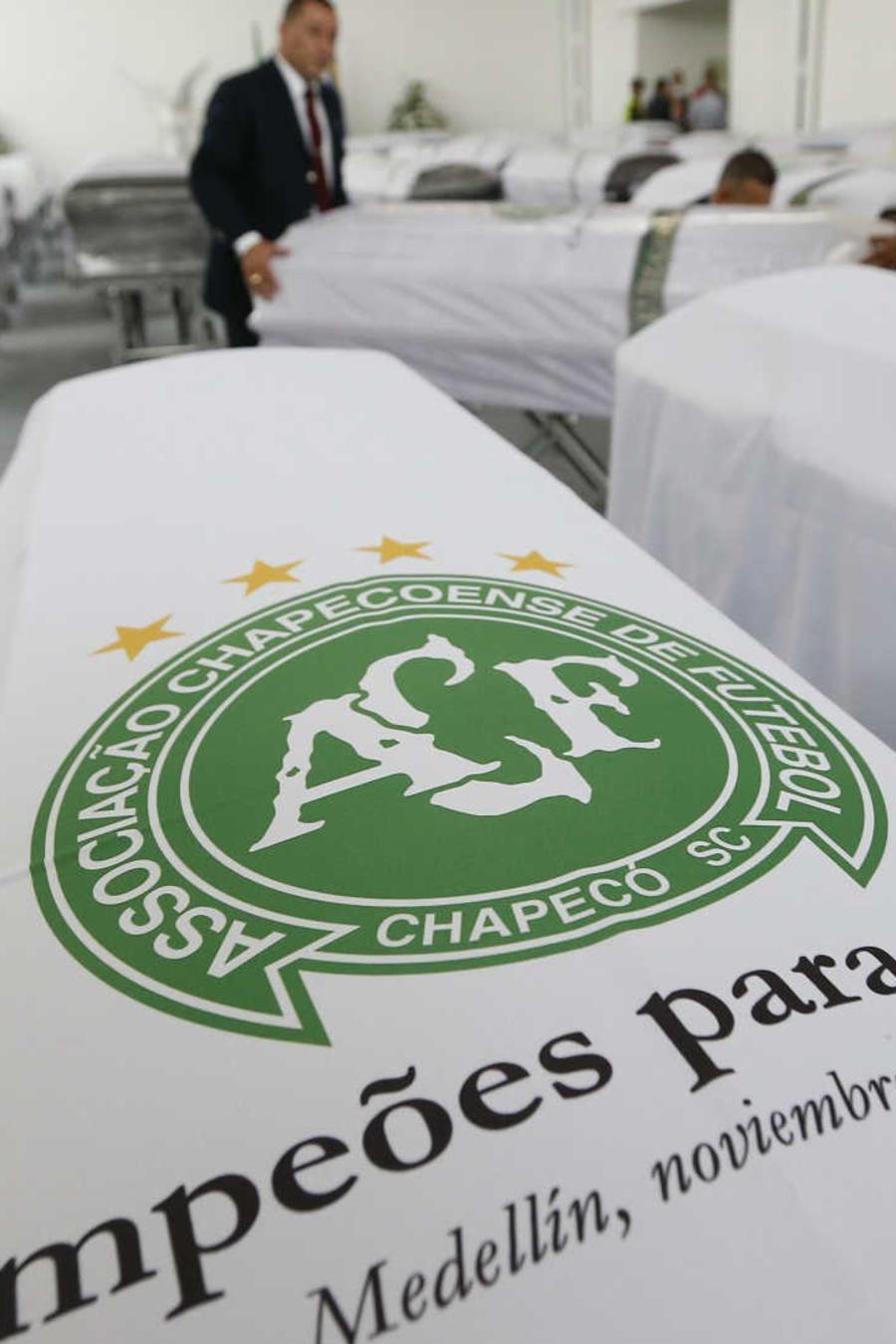 Club argentino lucirá escudo de Chapecoense
