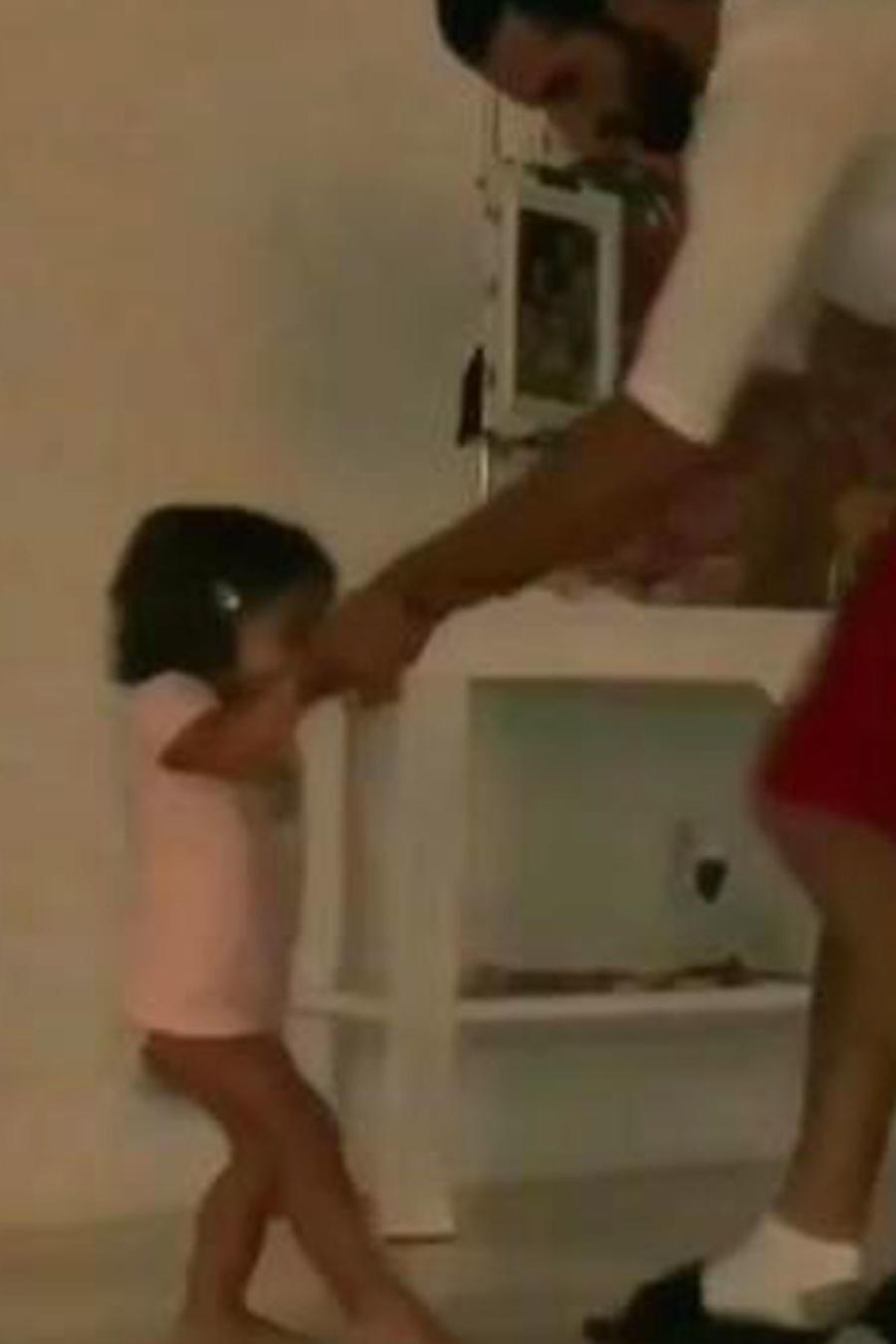 ¡Alaia volvió a subir un video que se hizo viral!