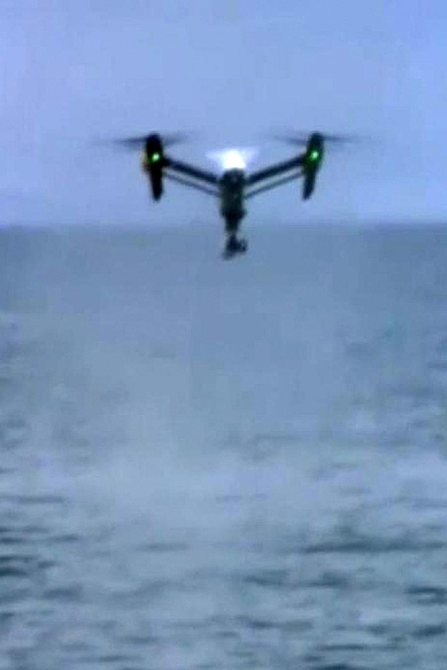 utilizan drones