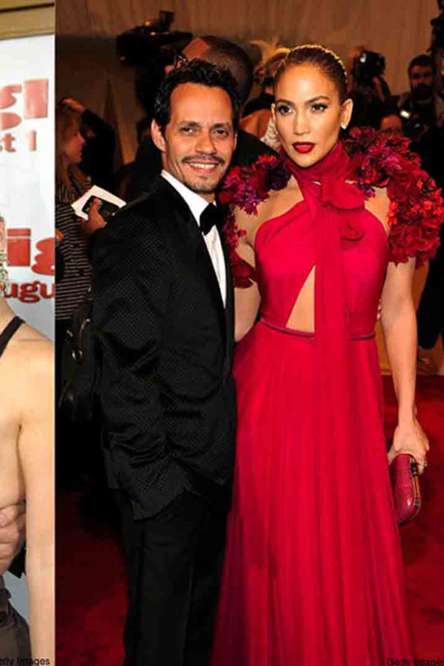 Jennifer Lopez, Sean Combs, Ben Affleck y Marc Anthony