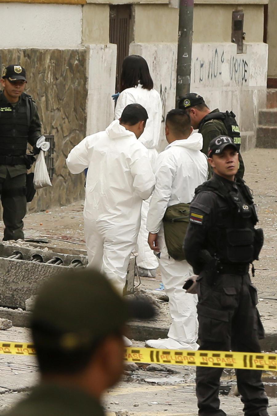Atentado con bomba sacude la capital colombiana
