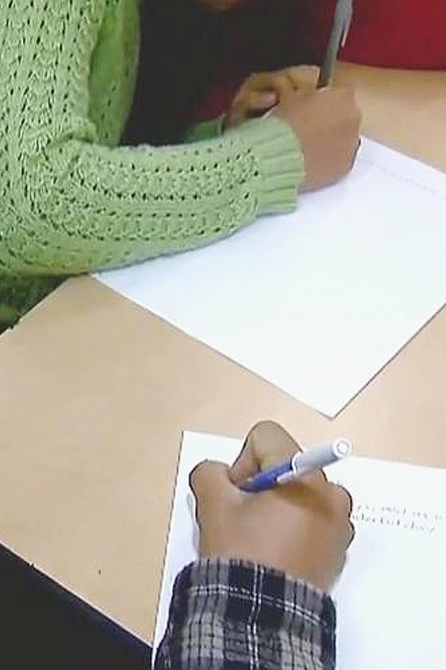 niños escriben cartas a trump