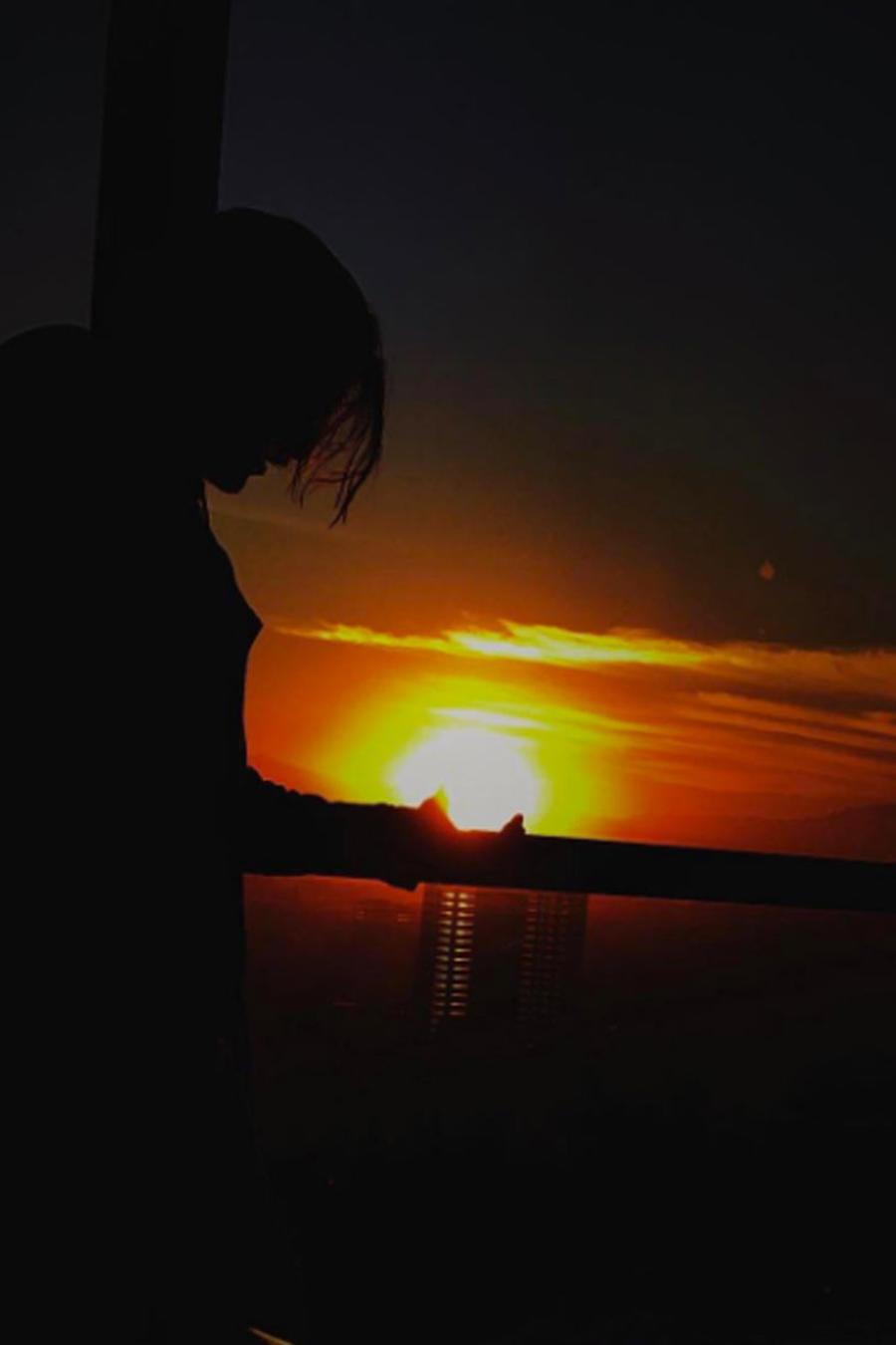 foto de amanecer