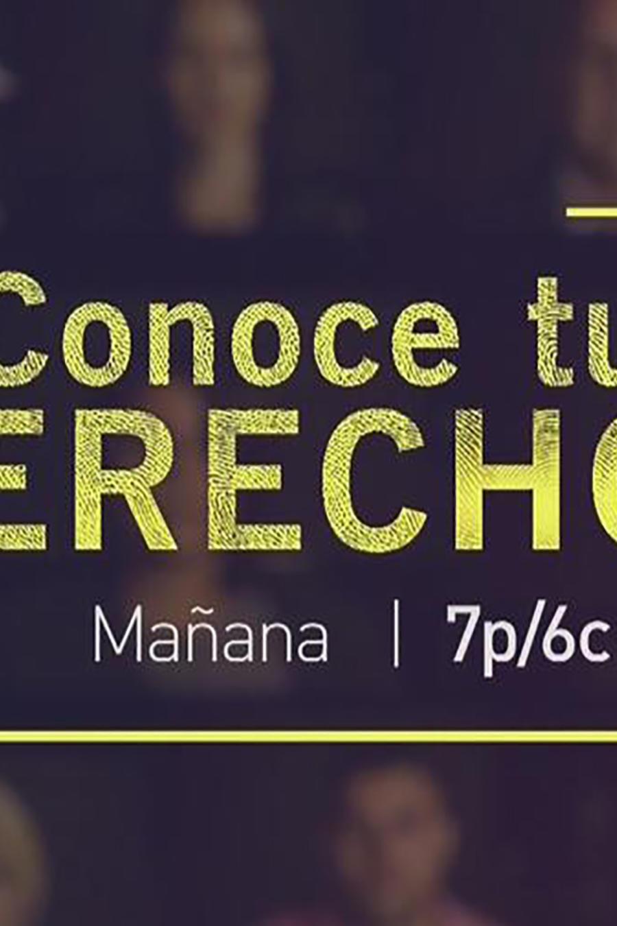 """Especial de Telemundo """"Conoce tus derechos"""" 7pm/6c"""