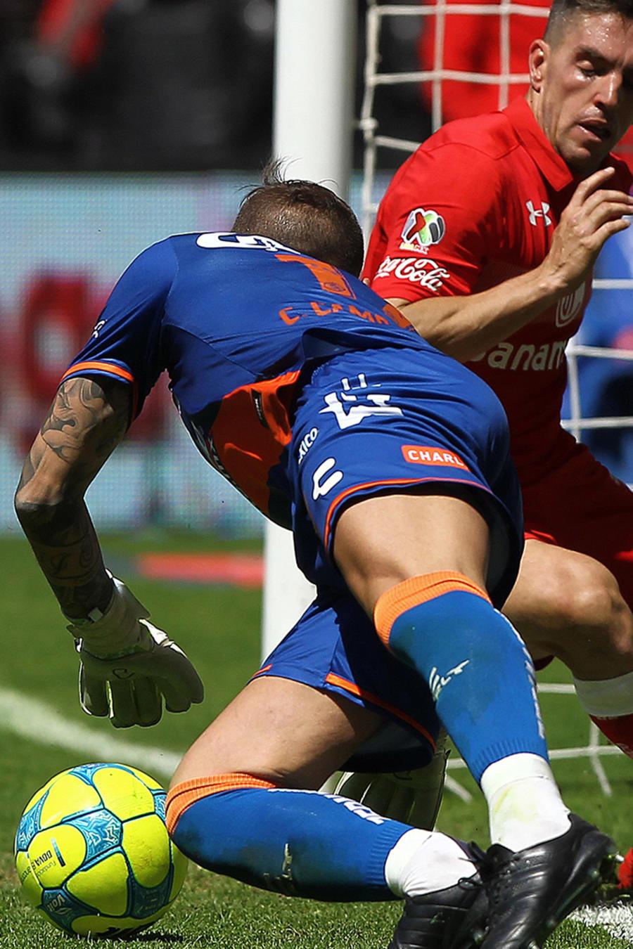 Puebla juega su mejor partido en años frente al Toluca