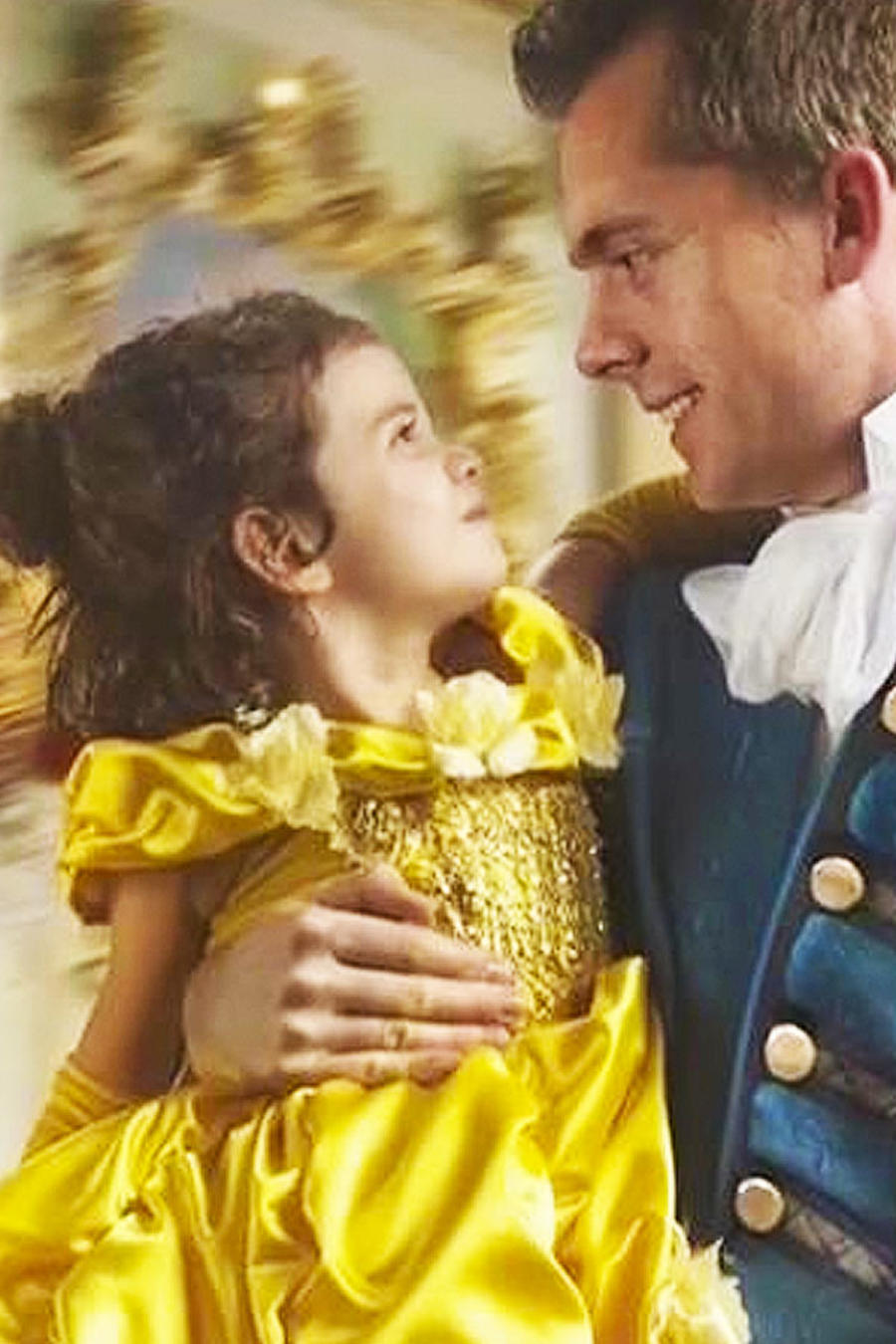 papá con su hija