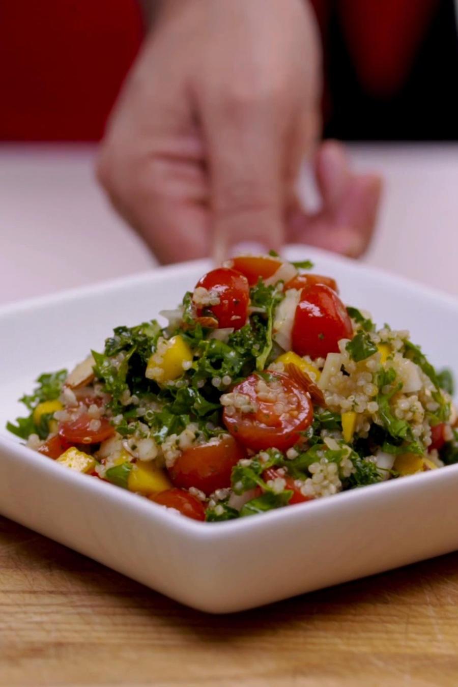 Ensalada andina con quinoa