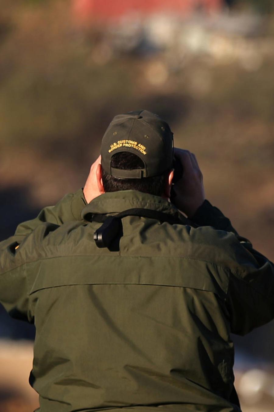Un agente de la patrulla fronteriza de EEUU.